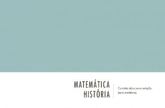 PRÉ-ENEM abre nova seleção para Monitor de Matemática e para Monitor de História