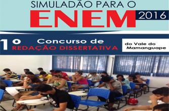 Cursinho PRÉ-ENEM do CCAE realiza Simuladão e Concurso de Redação