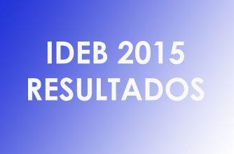 Dados do Ideb 2015 já estão disponíveis para consulta
